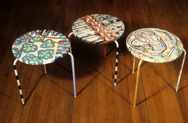 3 Stools Chair Series